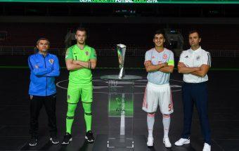 Tonight is the night, the first-ever U19 UEFA Futsal EURO final!!!