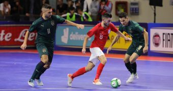 Qualifiers from the FIFA Futsal World Cup UEFA main round