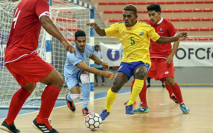 Plenty of goals on day one of the Oceania Futsal Nations Cup