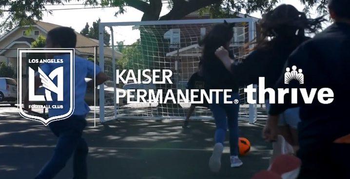 LAFC & Kaiser Permanente To Refurbish Futsal Courts Across Los Angeles