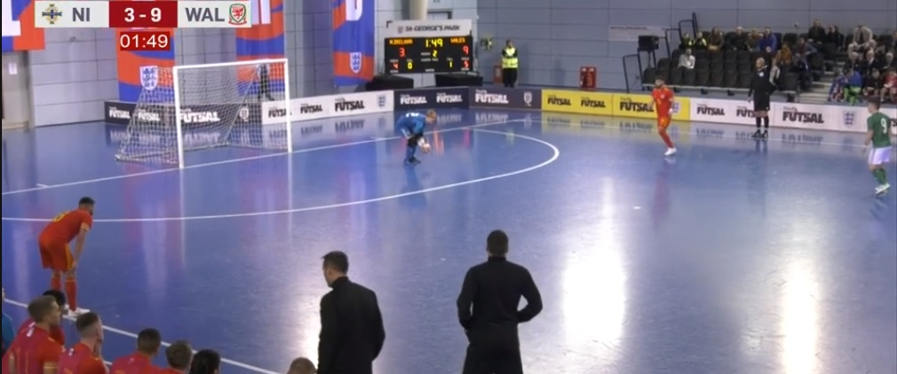 Northern Ireland 3 Wales 9 - Home Nations Futsal Championships 2019