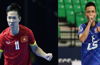Vietnamese futsal players currently on trial in Spain