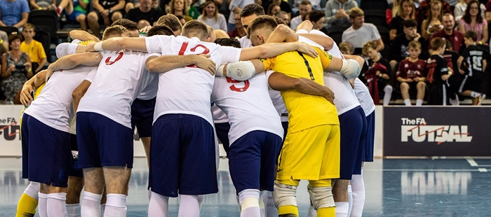 Four Nations Futsal Championships taking place in England in November
