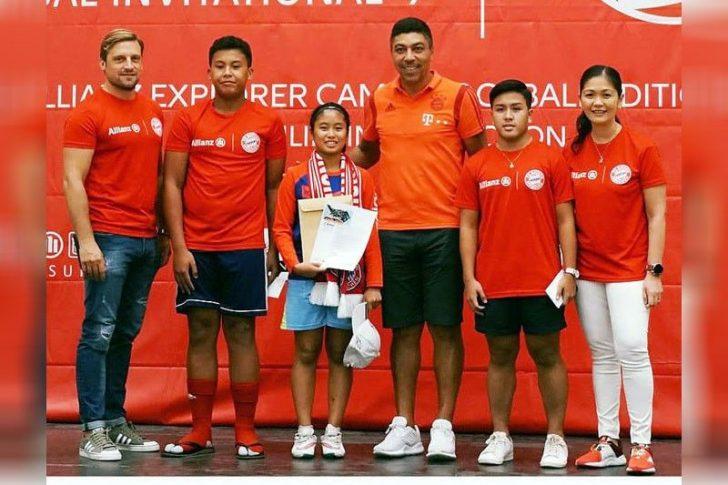 Allianz's Futsal program wins the Silver Award for Best Youth Sports Development Program