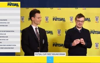 Watch the first round draw of the 2020 FA Futsal Cup