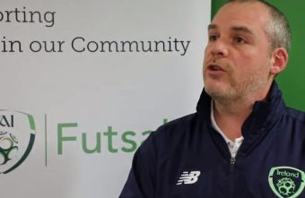 The Republic of Ireland launch underage Futsal League at their FAI headquarters
