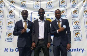 Futsal Association Uganda celebrate their first FIFA Futsal Referees