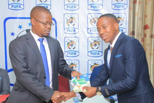 Futsal Association Uganda celebrate their first FIFA Futsal Referees