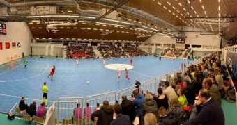 Who progressed from the preliminary round stage of the UEFA Futsal EURO 2022?