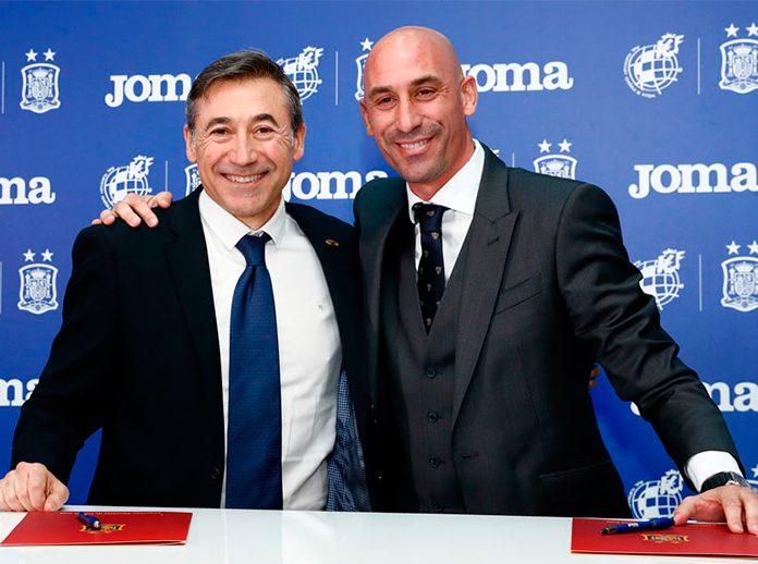 Spanish Football Federation signed a futsal-focused agreement with sportswear company Joma