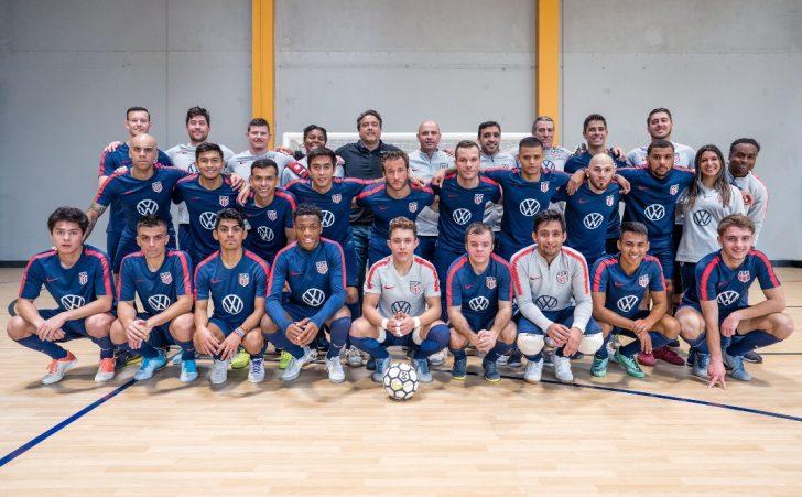 U.S.A preparing for 2020 Concacaf Futsal Championship