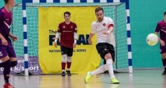 England Futsal legend Stuart Cook takes on a new challenge at Bolton Futsal Club