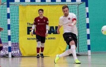 England Futsal legend Stuart Cook takes on a new challenge at Bolton Futsal Club