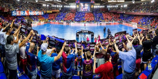 The Palau Blaugrana will host the Final Four of the Futsal Champions League in October