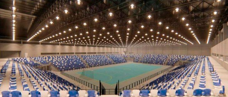 Brazilian Futsal club Pato Futsal will move to a new 10,000 seater stadium