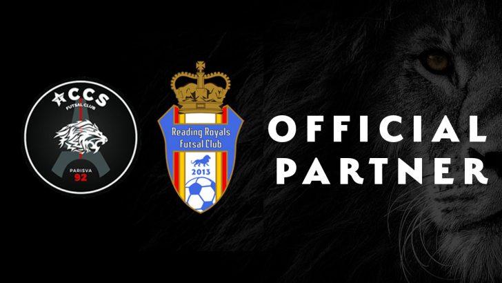 Reading Royals Futsal club announce partnership with French club ACCS Futsal