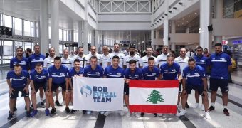 Coach Alexandre de Souza and General Manager Gilbert Diab end their time with Bank of Beirut