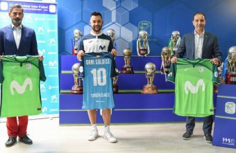 Ricardinho's '10' already has an heir at Movistar Inter: Dani Saldise