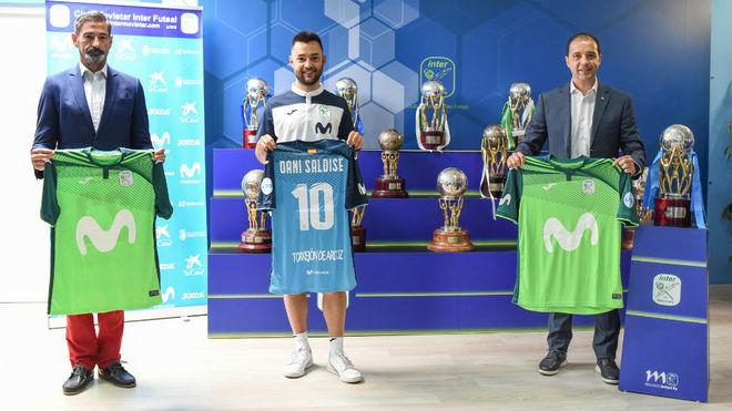 Ricardinho's '10' already has an heir at Movistar Inter: Dani Saldise