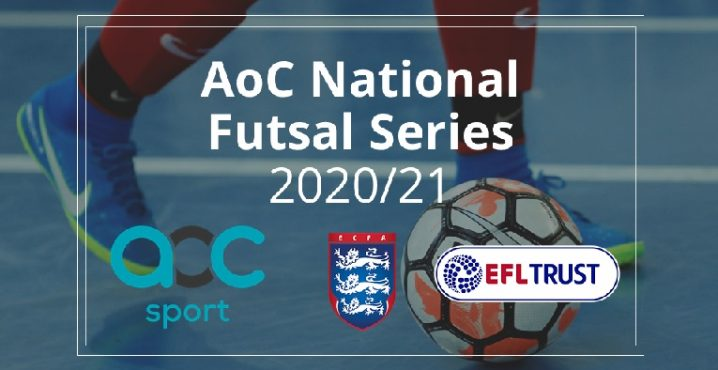 English Football League trust programmes taking part in AoC National Futsal Series 2020-21