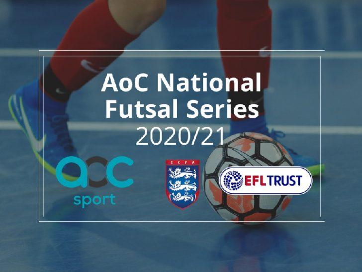 English Football League trust programmes taking part in AoC National Futsal Series 2020-21