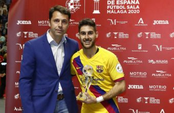 Barca's Adolfo named MVP of the LNFS 2019-20 season