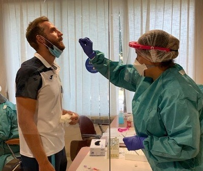 A Movistar Inter player tests positive for coronavirus