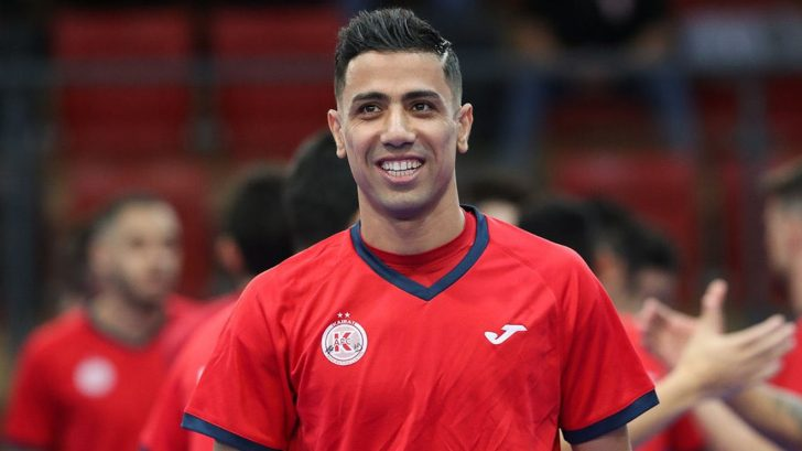 Benfica Futsal announced the signing of Hossein Tayebi