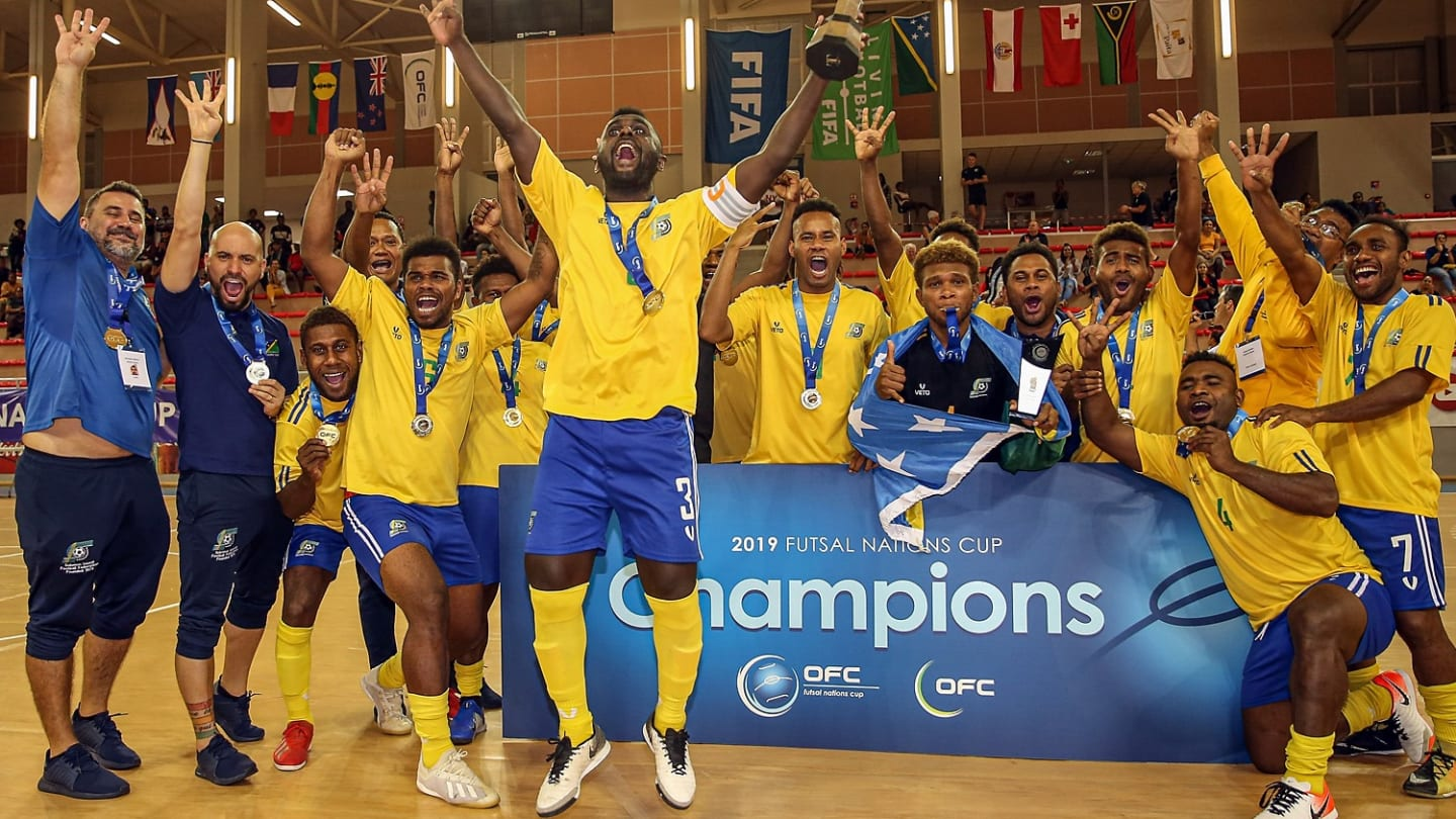 The Solomon Islands and their captain Elliot Ragomo chase futsal history