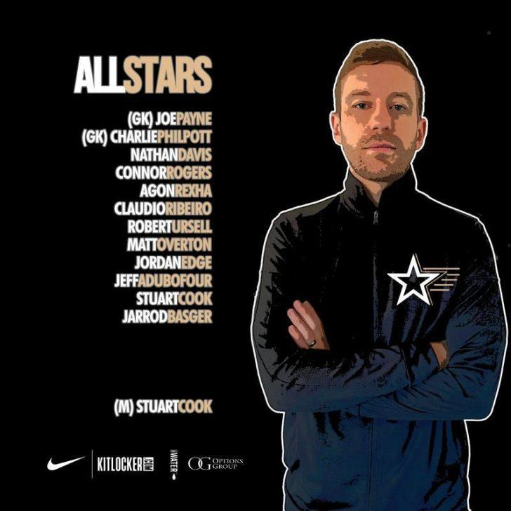 Pro Futsal London v All Stars selected by Stuart Cook