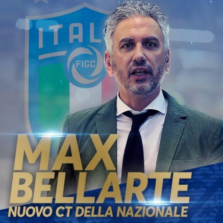 Massimiliano Bellarte is the new coach of the Azzurri