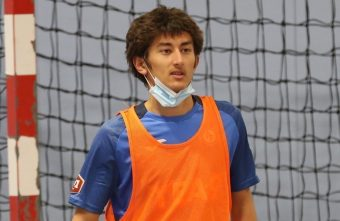 Sofiane Alla French U19 International and futsal player for Hérouville