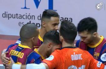 For the third year in a row Barca v Jaén Paraíso Interior in the Copa del Rey