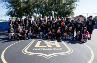 Los Angeles FC continue to build outdoor futsal courts