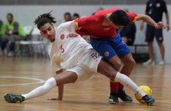 Mo Farsi wins Canadian Futsal Player of the Year Award