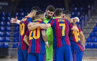 UEFA Futsal Champions League round of 32 kicks off with Barça and Prishtina