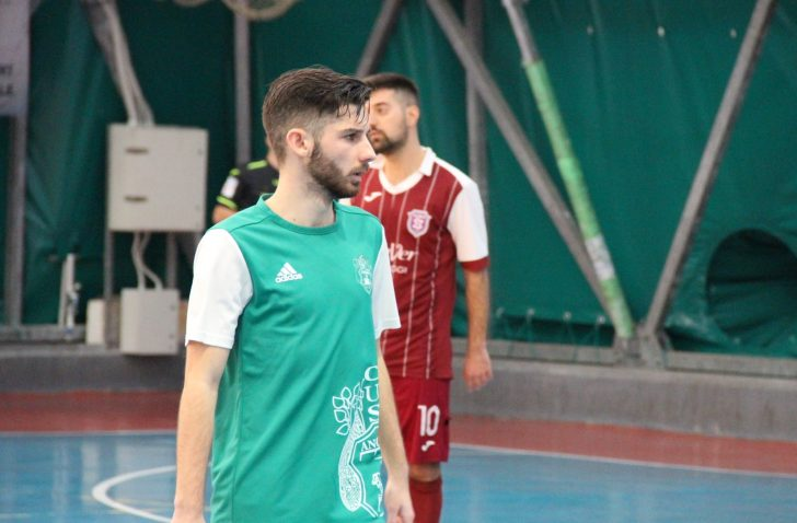 English futsal player Liam Palfreeman makes it 7 goals in 7 games in Italy for CUS Ancona