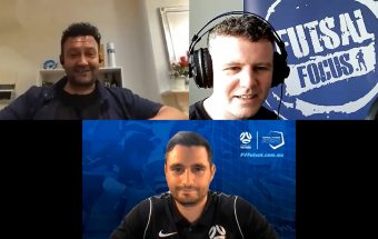 Futsal & Proud full interview with Peter Parthimos and Anthony Grima