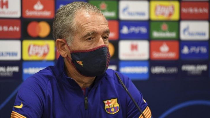 Barca's Head Coach Andreu Plaza discusses ACCS, French Futsal and the UEFA Futsal Champions League