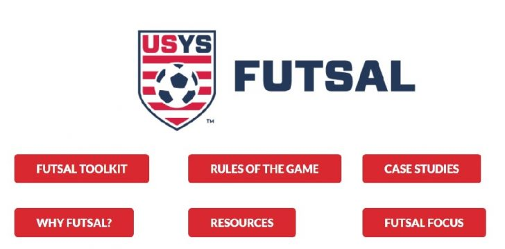 US Youth Soccer includes Futsal Focus on their website