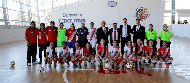 Futsal development in Costa Rica