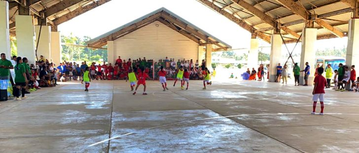 Vava'u in Tonga welcomes futsal for the first time