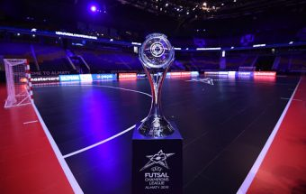 Holders Barca face Sporting seeking a second UEFA Futsal Champions League crown