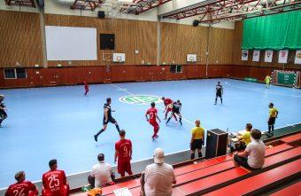 Christian Wölfelschneider head coach of TSG 1846 Mainz Futsal discusses Futsal in Germany