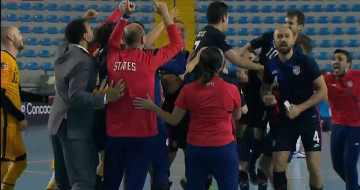 The USA won on penalties and will play Costa Rica in the CONCACAF Futsal Championships Final