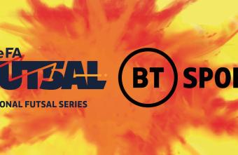 BT Sport will broadcast the Grand Final of the FA National Futsal Series Summer Showdown