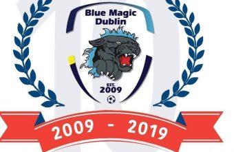 Blue Magic Futsal Dublin Ireland's representative club for the UEFA Futsal Champions League