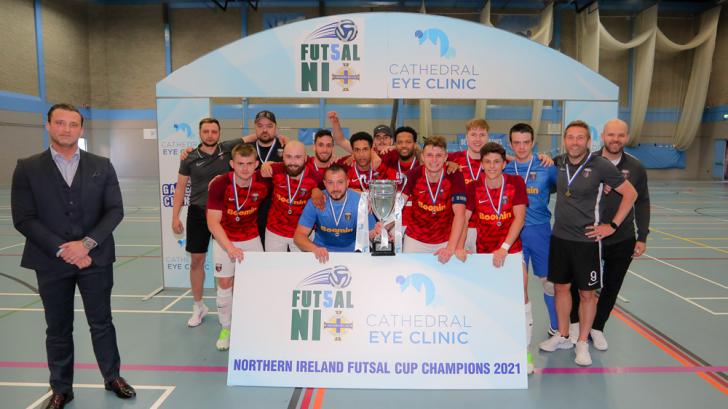 Sparta Belfast will represent Northern Ireland in the Futsal Champions League