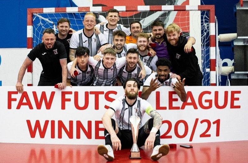 Cefn Druids claim maiden Elite League Futsal title win