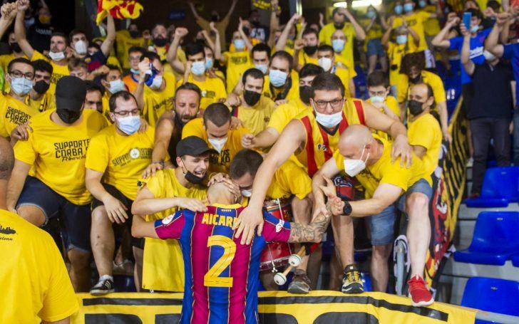 Barça won their fifth league title on penalties